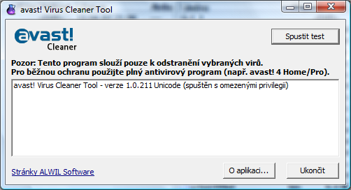 avast virus cleaner