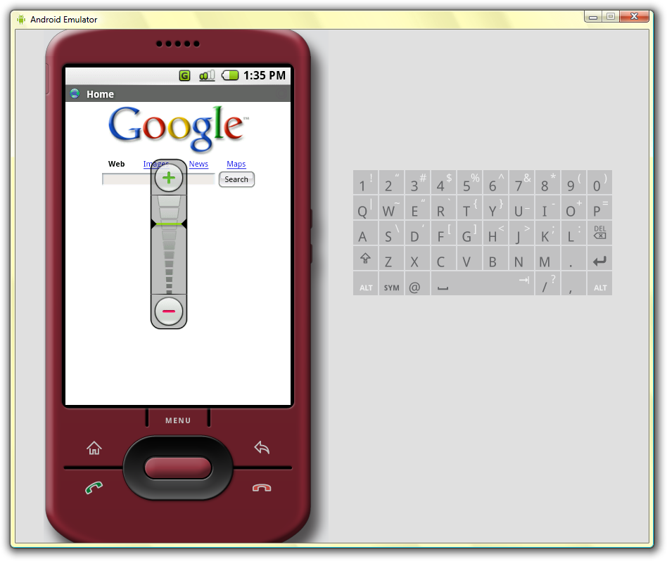 android emulator in browser