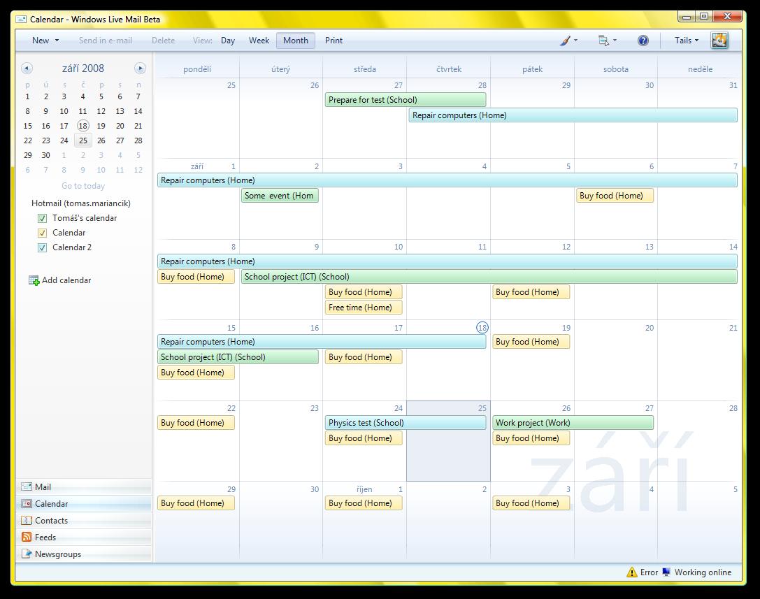 Pin Mail Windows Calendar Teclado Numerico ...