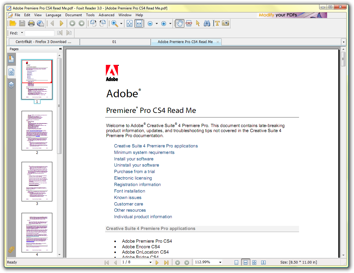 how to delete pdf file from adobe reader ipad