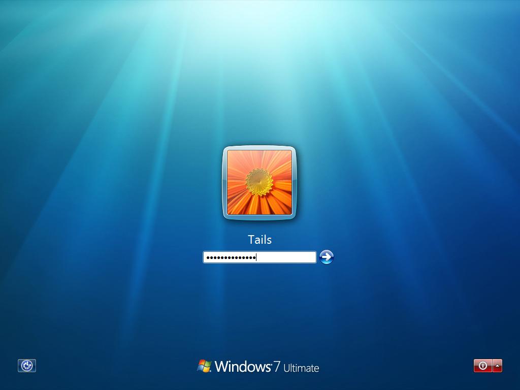 Windows 7 Beta Logon Screen Screenshots Archive