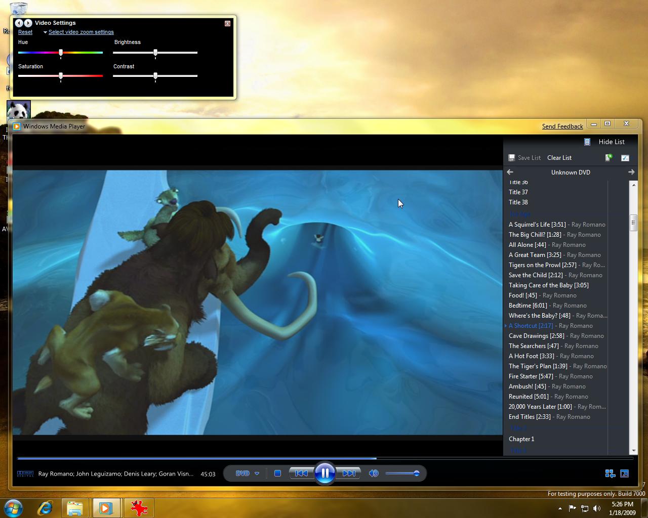 Windows 7 Beta - Windows Media Player 12