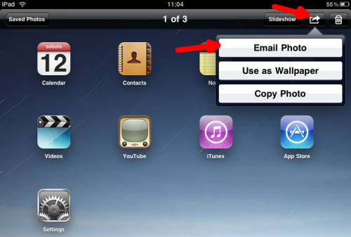 How to take screenshots on iPad