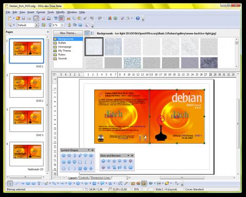 Openoffice 3 Developer Version Beta Draw Screenshots